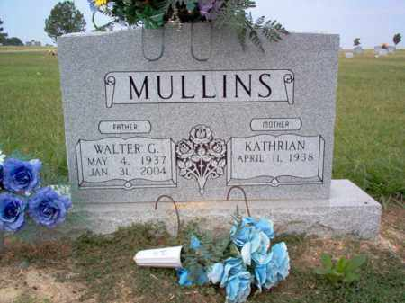 MULLINS, WALTER G - Cross County, Arkansas | WALTER G MULLINS - Arkansas Gravestone Photos