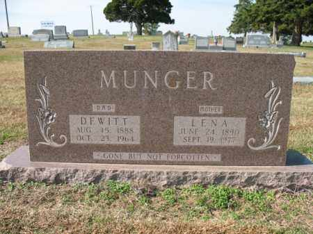 MUNGER, DEWITT - Cross County, Arkansas | DEWITT MUNGER - Arkansas Gravestone Photos