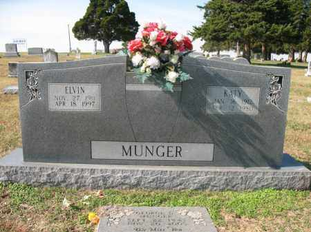 MUNGER, ELVIN - Cross County, Arkansas | ELVIN MUNGER - Arkansas Gravestone Photos