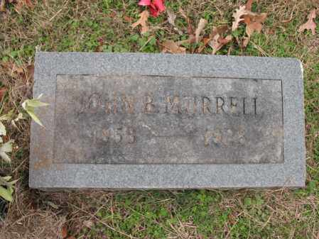 MURRELL, JOHN B - Cross County, Arkansas | JOHN B MURRELL - Arkansas Gravestone Photos