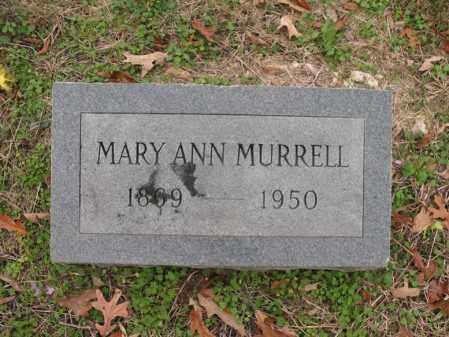 MURRELL, MARY ANN - Cross County, Arkansas | MARY ANN MURRELL - Arkansas Gravestone Photos