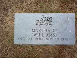 WILLIAMS MURRY, MARTHA C - Cross County, Arkansas | MARTHA C WILLIAMS MURRY - Arkansas Gravestone Photos