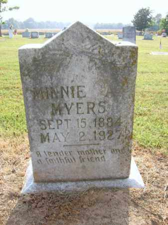 MYERS, MINNIE - Cross County, Arkansas | MINNIE MYERS - Arkansas Gravestone Photos