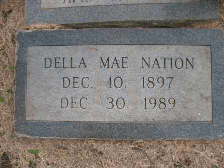 NATION, DELLA MAE - Cross County, Arkansas | DELLA MAE NATION - Arkansas Gravestone Photos