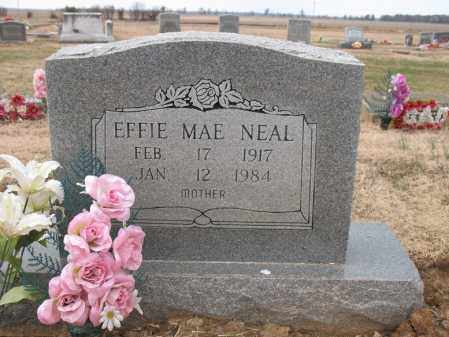 NEAL, EFFIE MAE - Cross County, Arkansas | EFFIE MAE NEAL - Arkansas Gravestone Photos