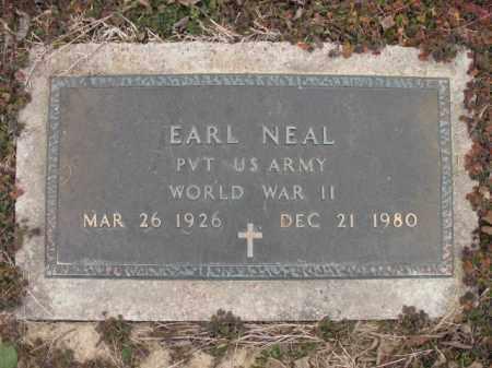 NEAL (VETERAN WWII), EARL - Cross County, Arkansas | EARL NEAL (VETERAN WWII) - Arkansas Gravestone Photos
