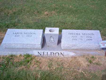 NELDON, THELMA - Cross County, Arkansas | THELMA NELDON - Arkansas Gravestone Photos