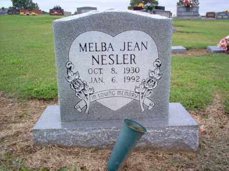 NESLER, MELBA JEAN - Cross County, Arkansas | MELBA JEAN NESLER - Arkansas Gravestone Photos