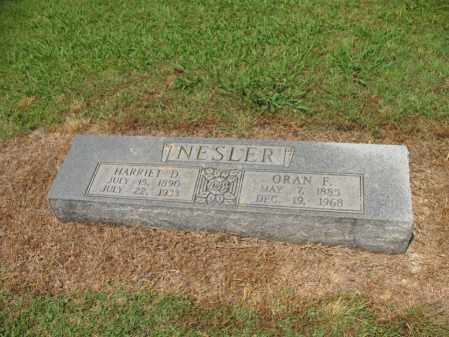 "NESLER, HARRIET D ""HATTIE"" - Cross County, Arkansas 