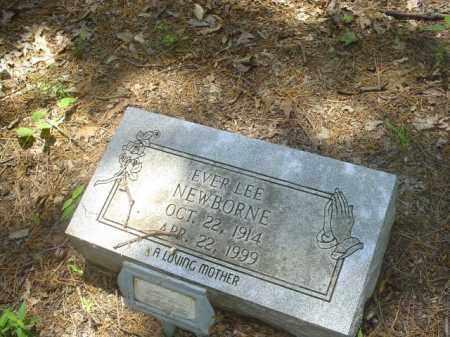 NEWBORNE, EVER LEE - Cross County, Arkansas | EVER LEE NEWBORNE - Arkansas Gravestone Photos