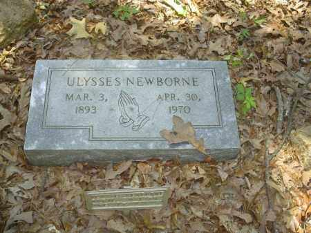 NEWBORNE, ULYSSES - Cross County, Arkansas | ULYSSES NEWBORNE - Arkansas Gravestone Photos