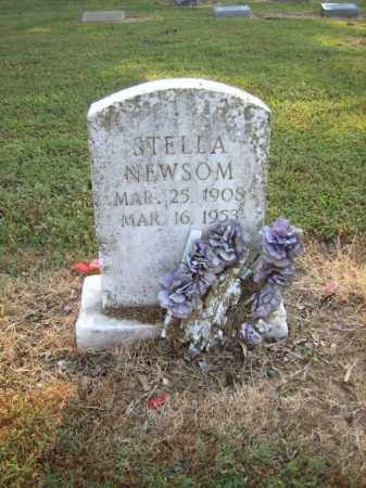 NEWSOM, STELLA - Cross County, Arkansas | STELLA NEWSOM - Arkansas Gravestone Photos