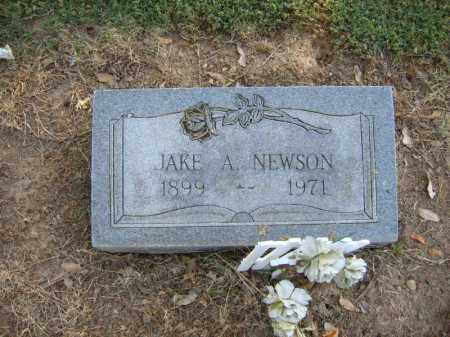 NEWSON, JAKE A - Cross County, Arkansas | JAKE A NEWSON - Arkansas Gravestone Photos