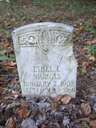 NICHOLS, ETHEL L - Cross County, Arkansas | ETHEL L NICHOLS - Arkansas Gravestone Photos