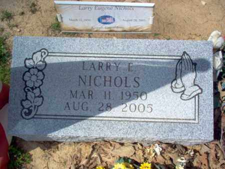 NICHOLS, LARRY EUGENE - Cross County, Arkansas   LARRY EUGENE NICHOLS - Arkansas Gravestone Photos