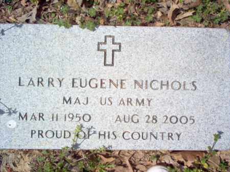 NICHOLS (VETERAN), LARRY EUGENE - Cross County, Arkansas | LARRY EUGENE NICHOLS (VETERAN) - Arkansas Gravestone Photos