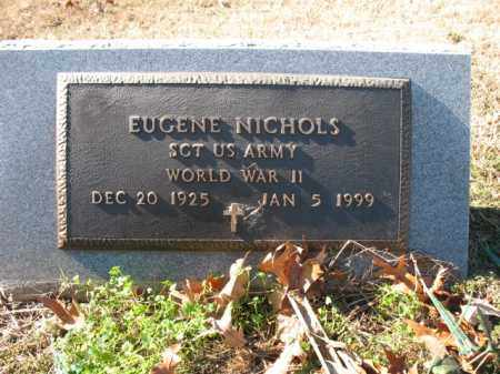 NICHOLS (VETERAN WWII), EUGENE - Cross County, Arkansas | EUGENE NICHOLS (VETERAN WWII) - Arkansas Gravestone Photos