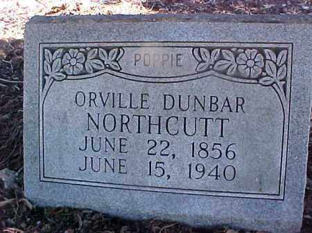NORTHCUTT, ORVILLE DUNBAR - Cross County, Arkansas | ORVILLE DUNBAR NORTHCUTT - Arkansas Gravestone Photos