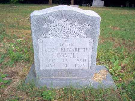 NORVELL, LUCY ELIZABETH - Cross County, Arkansas | LUCY ELIZABETH NORVELL - Arkansas Gravestone Photos