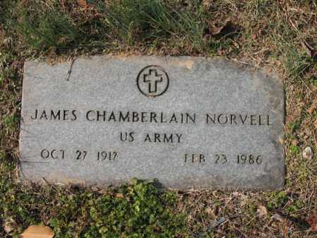 NORVELL, SR (VETERAN), JAMES CHAMBERLAIN - Cross County, Arkansas | JAMES CHAMBERLAIN NORVELL, SR (VETERAN) - Arkansas Gravestone Photos