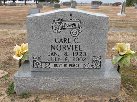 NORVIEL, CARL C - Cross County, Arkansas | CARL C NORVIEL - Arkansas Gravestone Photos