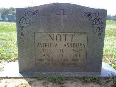 NOTT, PATRICIA - Cross County, Arkansas | PATRICIA NOTT - Arkansas Gravestone Photos