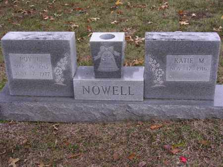 NOWELL, ROY E - Cross County, Arkansas | ROY E NOWELL - Arkansas Gravestone Photos