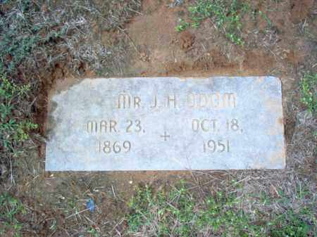 ODOM, J H - Cross County, Arkansas | J H ODOM - Arkansas Gravestone Photos