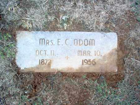 ODOM, MRS., E C - Cross County, Arkansas   E C ODOM, MRS. - Arkansas Gravestone Photos