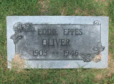 OLIVER, EDDIE EPPES - Cross County, Arkansas | EDDIE EPPES OLIVER - Arkansas Gravestone Photos