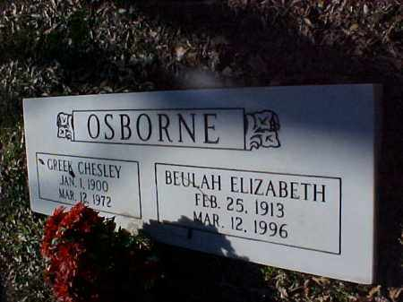 OSBORNE, BEULAH ELIZABETH - Cross County, Arkansas | BEULAH ELIZABETH OSBORNE - Arkansas Gravestone Photos