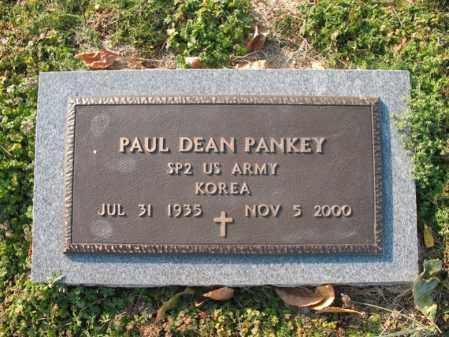 PANKEY (VETERAN KOR), PAUL DEAN - Cross County, Arkansas | PAUL DEAN PANKEY (VETERAN KOR) - Arkansas Gravestone Photos