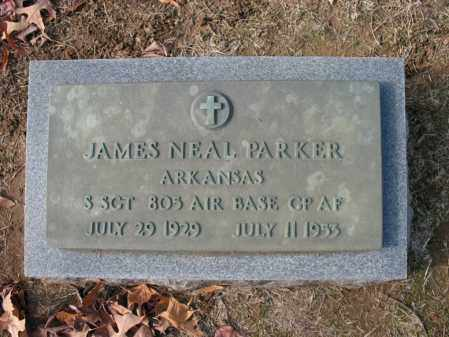 PARKER (VETERAN), JAMES NEAL - Cross County, Arkansas | JAMES NEAL PARKER (VETERAN) - Arkansas Gravestone Photos