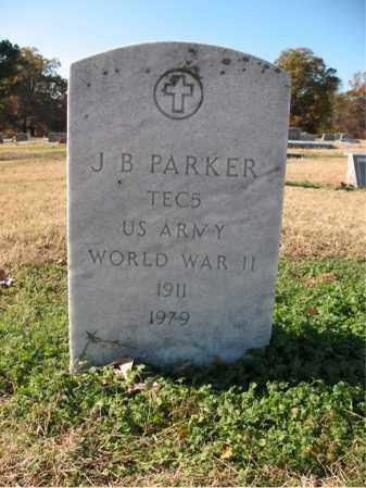 PARKER (VETERAN WWII), J B - Cross County, Arkansas | J B PARKER (VETERAN WWII) - Arkansas Gravestone Photos