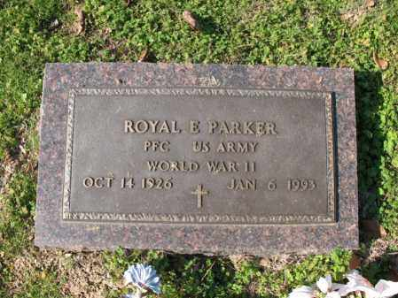 PARKER (VETERAN WWII), ROYAL E - Cross County, Arkansas | ROYAL E PARKER (VETERAN WWII) - Arkansas Gravestone Photos