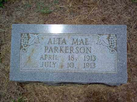 PARKERSON, ALTA MAE - Cross County, Arkansas | ALTA MAE PARKERSON - Arkansas Gravestone Photos