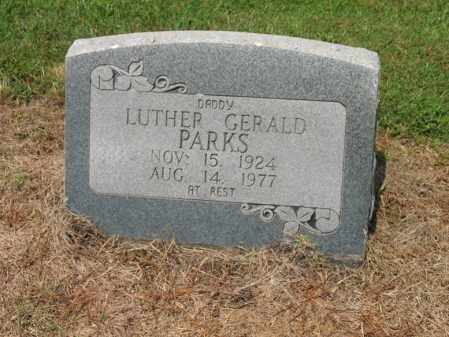 PARKS, LUTHER GERALD - Cross County, Arkansas | LUTHER GERALD PARKS - Arkansas Gravestone Photos