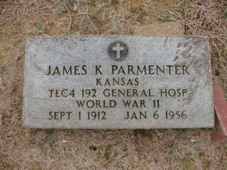 PARMENTER (VETERAN WWII), JAMES K - Cross County, Arkansas | JAMES K PARMENTER (VETERAN WWII) - Arkansas Gravestone Photos
