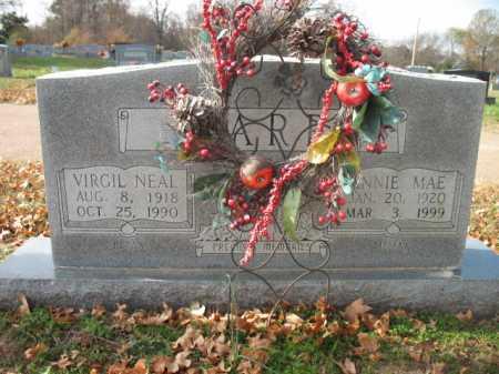 PARR, VIRGIL NEAL - Cross County, Arkansas | VIRGIL NEAL PARR - Arkansas Gravestone Photos