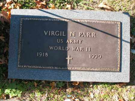 PARR (VETERAN WWII), VIRGIL N - Cross County, Arkansas | VIRGIL N PARR (VETERAN WWII) - Arkansas Gravestone Photos