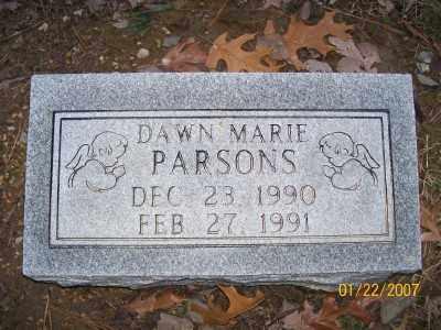 PARSONS, DAWN MARIE - Cross County, Arkansas   DAWN MARIE PARSONS - Arkansas Gravestone Photos