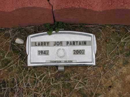 PARTAIN, LARRY JOE - Cross County, Arkansas | LARRY JOE PARTAIN - Arkansas Gravestone Photos