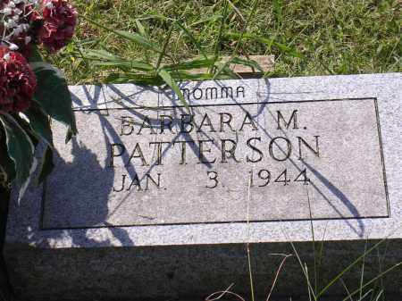PATTERSON, BARBARA M - Cross County, Arkansas | BARBARA M PATTERSON - Arkansas Gravestone Photos