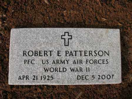 PATTERSON (VETERAN WWII), ROBERT E - Cross County, Arkansas | ROBERT E PATTERSON (VETERAN WWII) - Arkansas Gravestone Photos