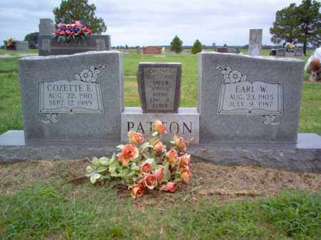 PATTON, EARL W - Cross County, Arkansas | EARL W PATTON - Arkansas Gravestone Photos
