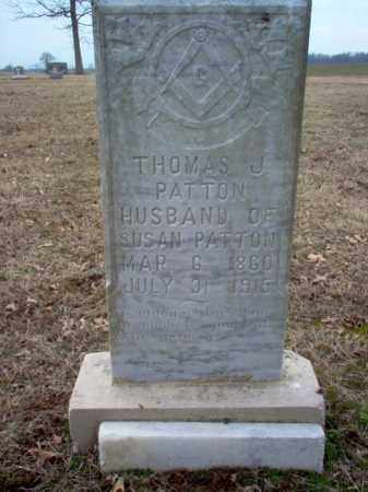 PATTON, THOMAS J - Cross County, Arkansas | THOMAS J PATTON - Arkansas Gravestone Photos