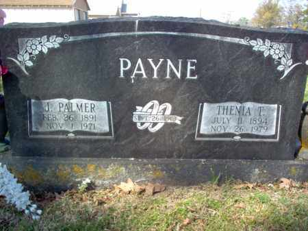 PAYNE, THENIA T - Cross County, Arkansas | THENIA T PAYNE - Arkansas Gravestone Photos