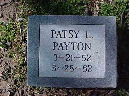 PAYTON, PATSY L - Cross County, Arkansas | PATSY L PAYTON - Arkansas Gravestone Photos