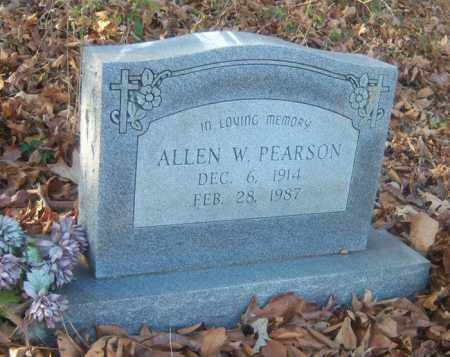 PEARSON, ALLEN W - Cross County, Arkansas | ALLEN W PEARSON - Arkansas Gravestone Photos