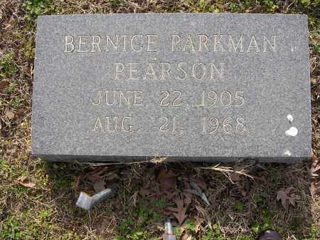 PEARSON, BERNICE - Cross County, Arkansas | BERNICE PEARSON - Arkansas Gravestone Photos